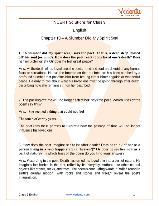 ncert-solutions-english-class-9-chapter-10 part-1