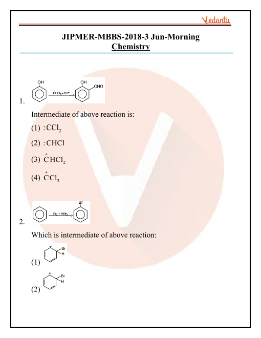 JIPMER 2018 Chemistry Question Paper with Solutions Morning Shift part-1