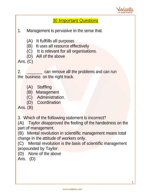ICO_Class 12_Important Questions part-1
