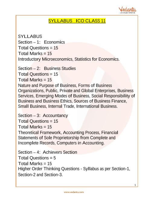 Syllabus_Class 11 part-1