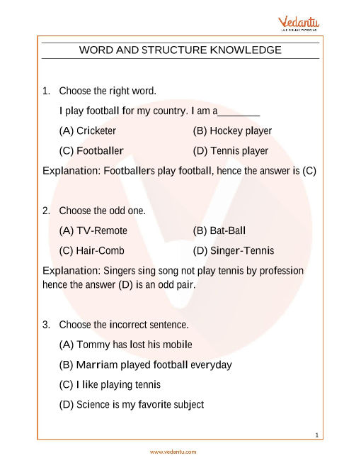 IEO_Class 4_Important Questions part-1