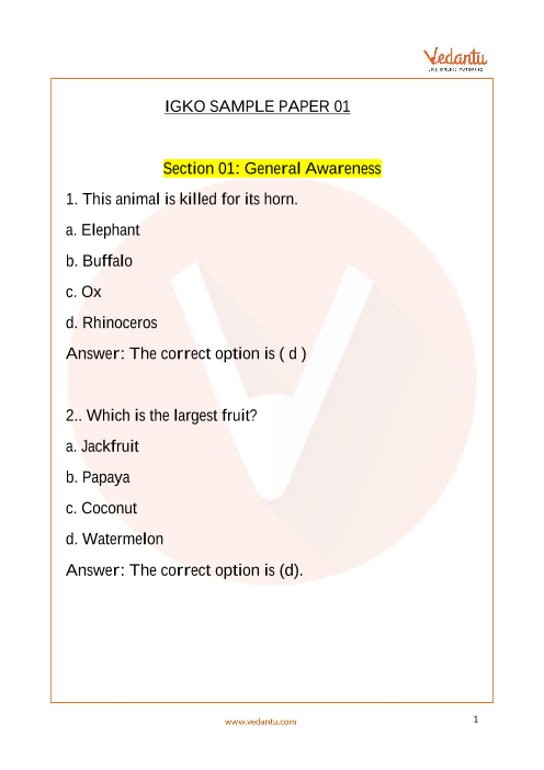 IGKO_Class 5_Sample Paper_1 part-1