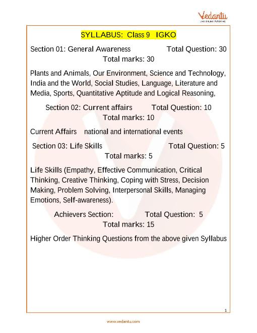 Syllabus_Class 9 part-1