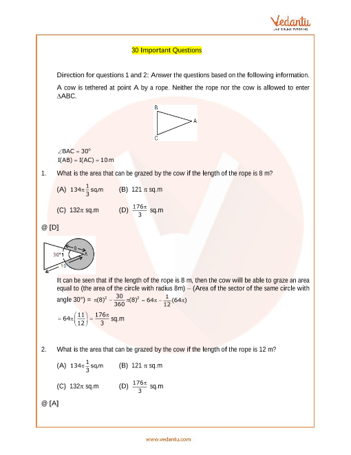 IMO_Class 10_Important Questions part-1