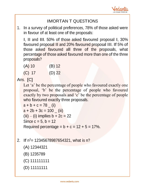 IMO_Class 7_Important Questions part-1