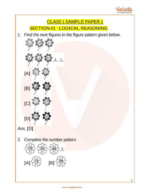 IMO_Class 1_Sample Paper_1 part-1