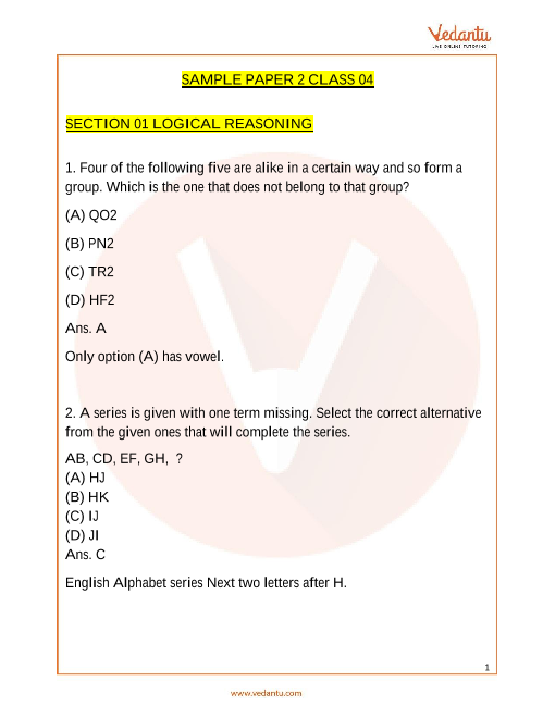 IMO_Class 4_Sample Paper_2 part-1