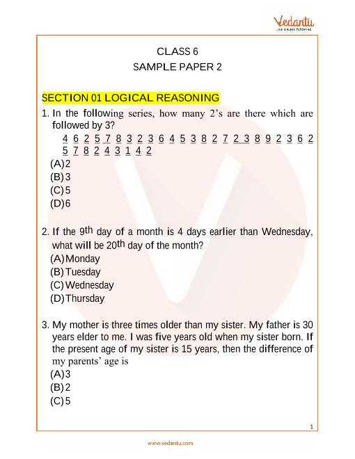 IMO_Class 6_Sample Paper_2 part-1