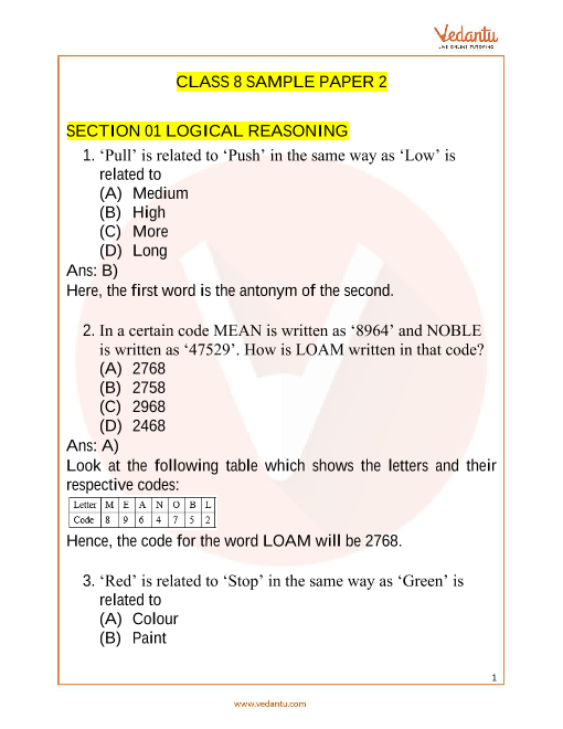 IMO_Class 8_Sample Paper_2 part-1