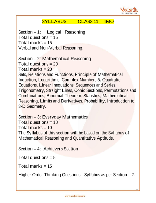 Syllabus_Class 11 part-1