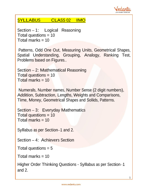 Syllabus_Class 2 part-1