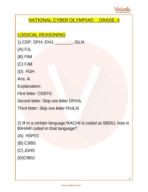NCO_Class 4_Sample Paper_2 part-1