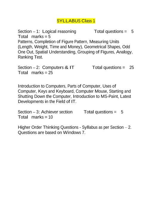 Syllabus_Class 1 part-1