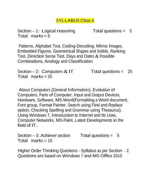 Syllabus_Class 4 part-1