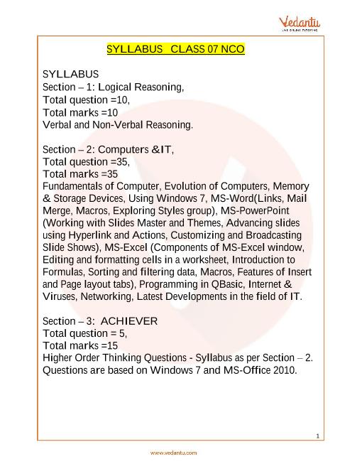 Syllabus_Class 7 part-1