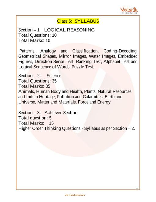 Syllabus_Class 5 part-1