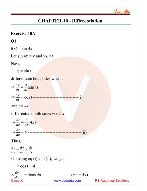 Vedantu - Chapter 10 (final) - Exercise 10A_10D part-1