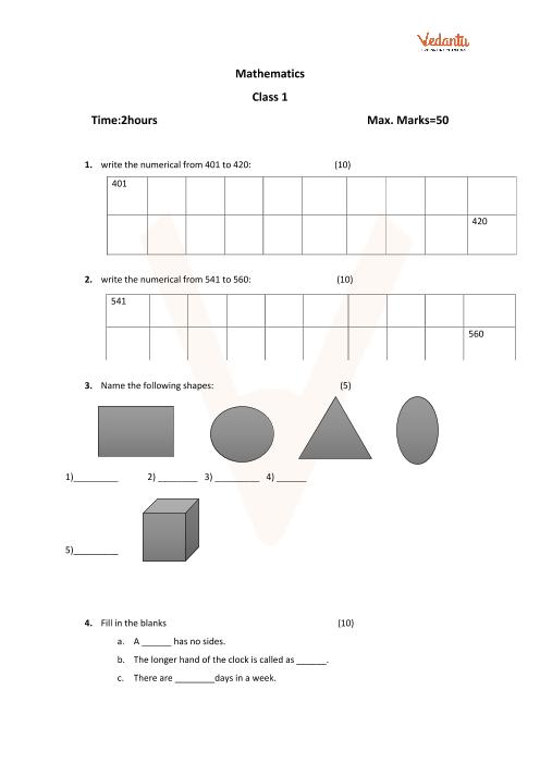 Maths Set-1 part-1