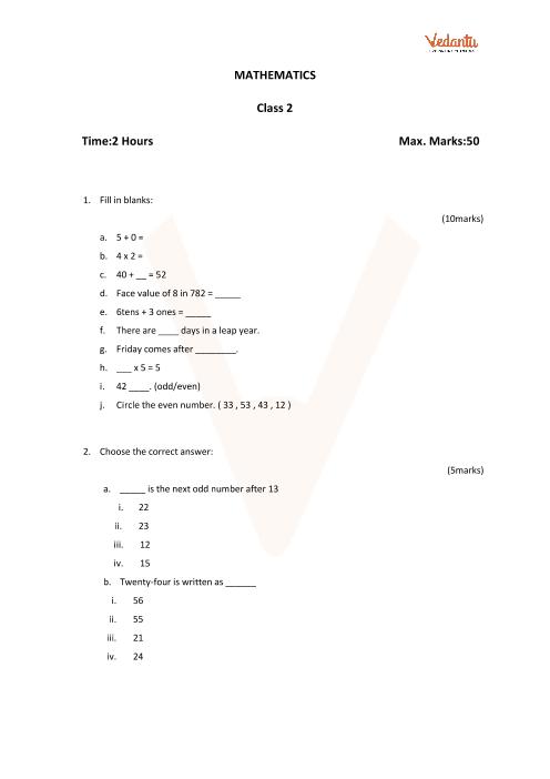 Maths Set 1 part-1