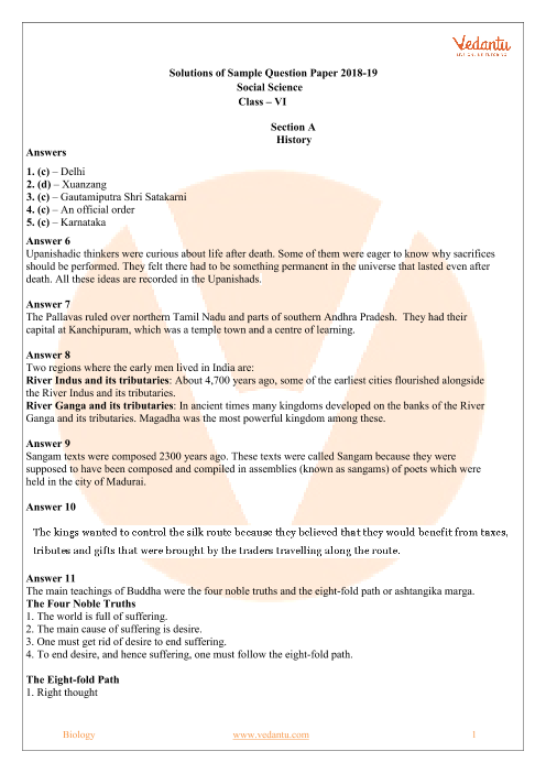 Cbse sample papers for class 6 social science sa2 top blog post writers site for college
