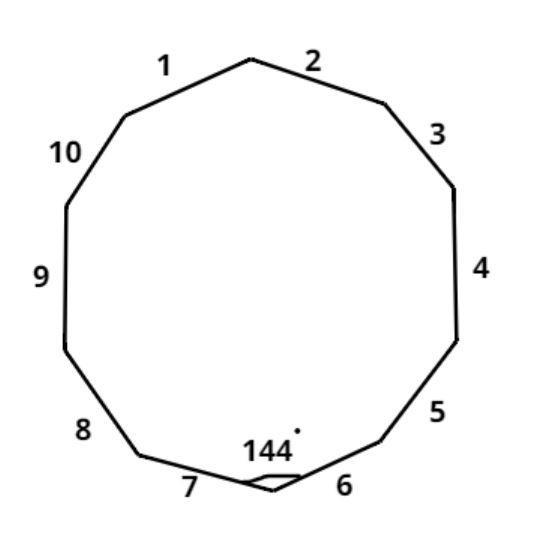 How many sides does a Decagon have a 7 b 8 c 9 d 1-class ...