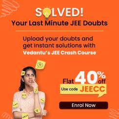 JEE Crash Course 2021