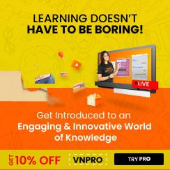 Vedantu PRO Courses