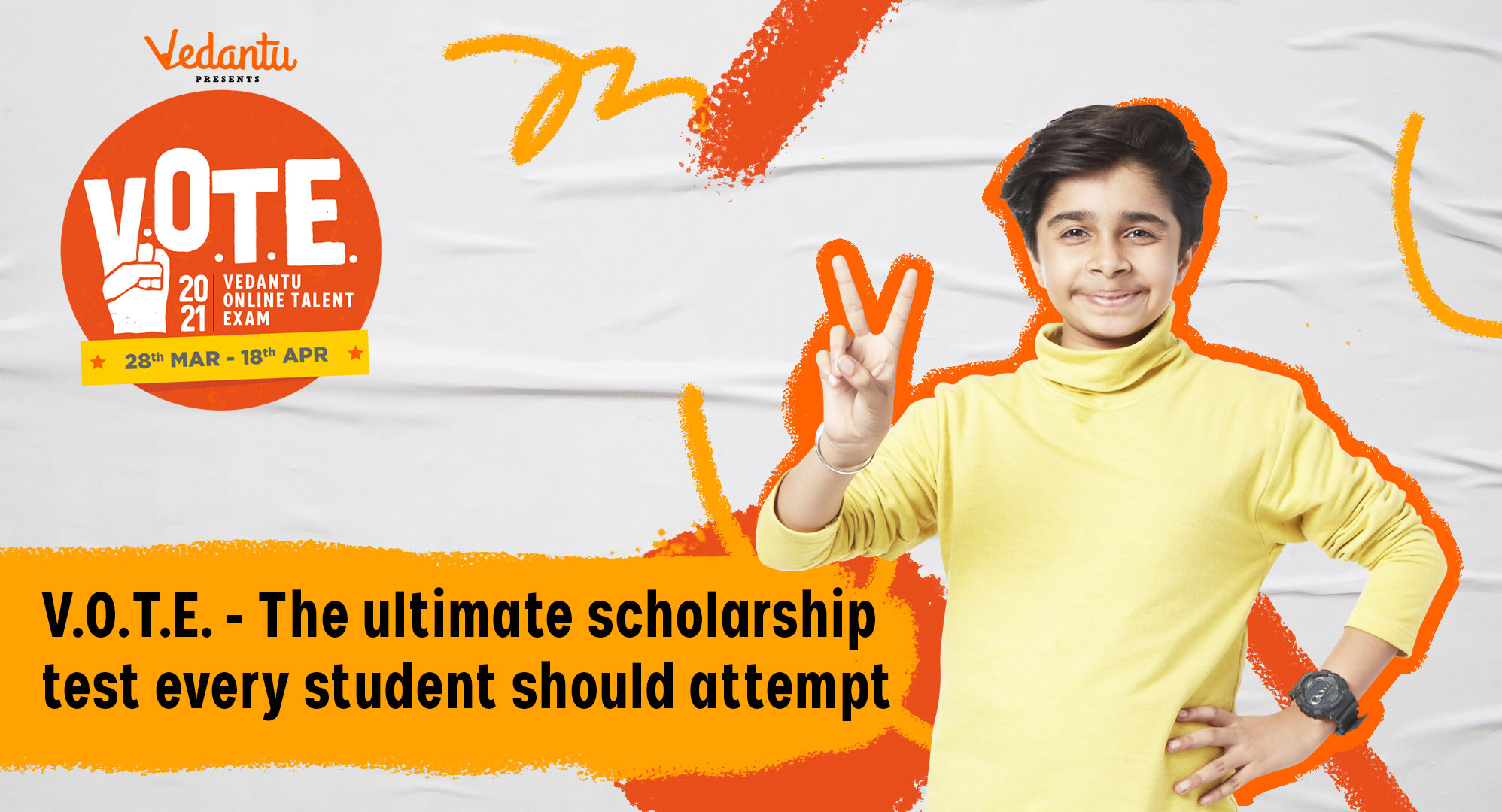 V.O.T.E. - The Ultimate Scholarship Test Every Student Should Attempt