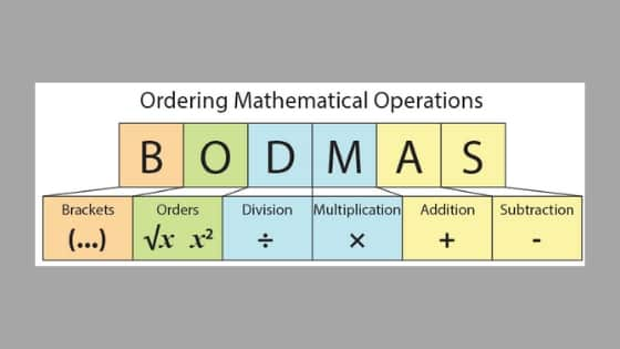 Bodmas Rule - What is Bodmas Rule | Order of Operations with