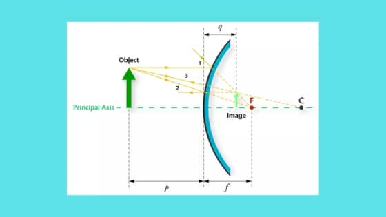 Concave and Convex Mirrors | Ray Diagram for Convex and